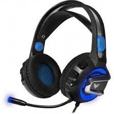 <b>Гарнитура Crown CMGH-3001</b> Black/Blue в интернет-магазине ...