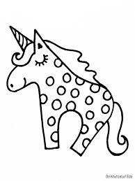 Eenhoorns Kleurplaten Unicorn Paard Kleurpl Pinterest Dejachthoorn