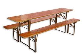 beer garden table. Vintage German Beer Garden Table With Benches E