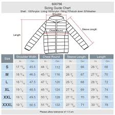 Lee Cooper Size Chart Jackets Lee Cooper Xlite Hooded Down Jacket Mens Down Jackets