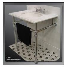chrome sink legs. Simple Chrome Undermount Wall Sink With Chrome Legs  Palmer Console Traditional  On Chrome Sink Legs R