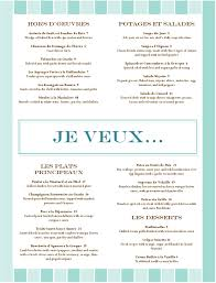 french menu template french food restaurant menu musthavemenus french teachery things
