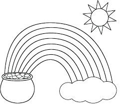 Rainbow Coloring Pictures Rainbow Colouring Pages Printable Coloring