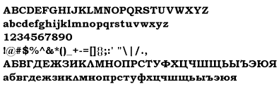 font preview bookman old style bold