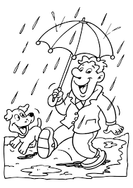 Small Picture Drawn rain coloring page Pencil and in color drawn rain coloring