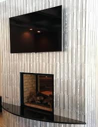 metal fireplace surround aluminum or stainless steel surrounds