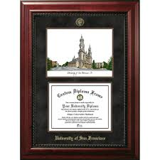 university of san francisco executive campus image and diploma  university of san francisco executive campus image and diploma frame