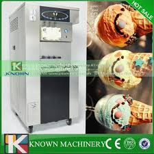 Self Service Ice Cream Vending Machine Gorgeous Factory Exclusive Supply Self Service Maunal Soft Ice Cream Vending