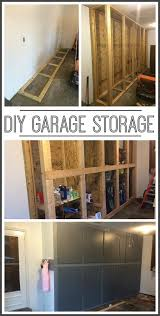 diy garage organization systems. how to make your own diy garage storage cabinets shelves organization systems