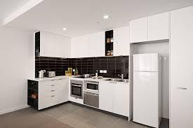 kitchen attractive small apartment kitchen design with corner