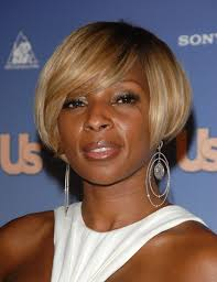 mary j blige celebrity hairstyles
