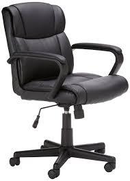comfort office chair. amazonbasics midback office chair comfort