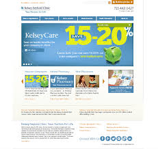Kelsey Seybold Com Site Redesign Dorinne Hammons