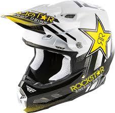 2020 Fly Racing F2 Carbon Mips Rockstar Helmet