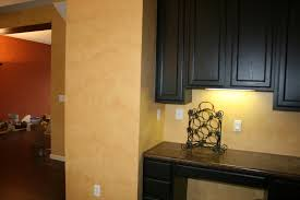 Yellow Kitchen Dark Cabinets Kitchen Kitchen Color Ideas With Oak Cabinets And Black