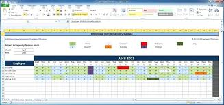 Large Size Of Schedule Template Excel Employee Rotation