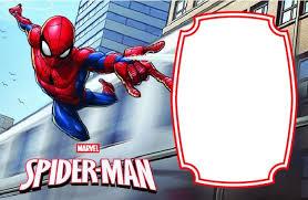 Spiderman Template Awesome Spiderman Birthday Invitation Templates Free