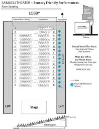 Segerstrom Center Seating Chart Scfta Seating Chart