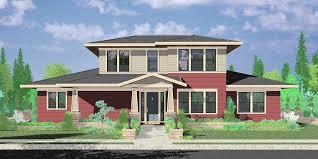 10160 Modern Prairie House Plans, Hood River House Plans, Master Bedroom On Main  Floor