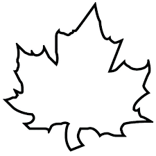autumn leaf coloring pages coloring pages autumn leaves maple leaf outline page patterns fall colouring sheets