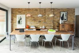 contemporary dining room pendant lighting. View In Gallery A Tom Dixon Classic Brings Varying Metallic Shades To The Contemporary Dining Space [Design: Room Pendant Lighting