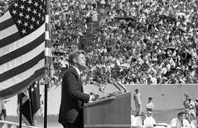 president kennedy gives his race for space speech space race  president kennedy the space race houston university texas we choose to go