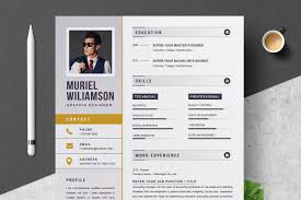 Resume Template Instant Download Resume Templates Creative Market