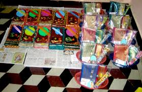 every day as a part of the navaratri program we perform suvasini puja in which we offer traditional gifts of a new sari and bangles makeup a mirror