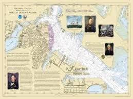 War Of 1812 Chart Amazon Com Historical Nautical Chart 1812 Boston Chart Ma