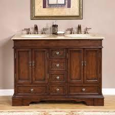 silkroad exclusive mesa 48 inch double sink bathroom vanity