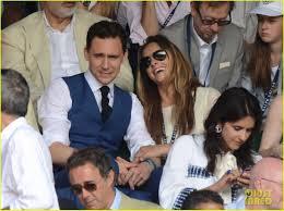 Tom Hiddleston Wimbledon Finals With Jane Arthy Pic Girlfriend Foto von  Wallie40   Fans teilen Deutschland Bilder