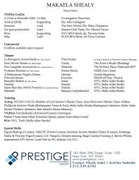 Resume Accent Resume MAKAELA SHEALY 61