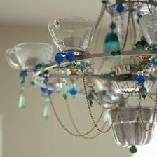 add an unusual chandelier