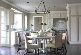 elegant classic dining room with james michael howard eat in kitchens table rustic circular iron eat kitchen lighting n14 lighting