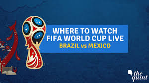 Brazil vs Mexico FIFA World Cup 2018 LIVE: Watch Online & on TV