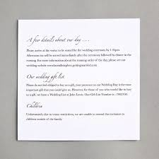 Invitation Information Template Additional Information Wedding Invitation 24 Patsveg 14