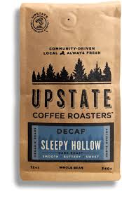 Most of the decaf coffees are a medium roast, but some coffee lovers just can't get up. Sleepy Hollow Decaf Coffee Upstate Coffee