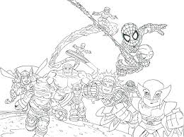 Coloring Pages Lego Coloring Pages Marvel Super Heroes Avengers