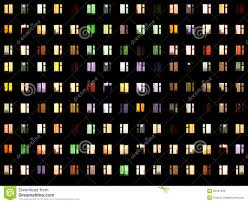 Simple City Window Texture Royaltyfree Stock Photo With Decorating