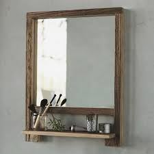 interior wood framed bathroom mirrors popular vertical wall mirror with black varnished pine frame inside