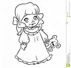 Small Picture Beautiful Little Girl Coloring Pages 47 About Remodel Free
