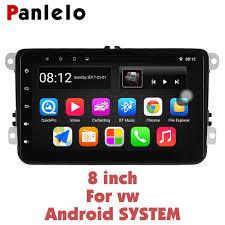 <b>Panlelo</b> S8 Plus for VW <b>Android 8.1</b> Car GPS navigation car 8 inch ...