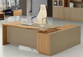 wooden office table. China Modern Wooden Furniture Boss Executive Office Table Cb 701 L