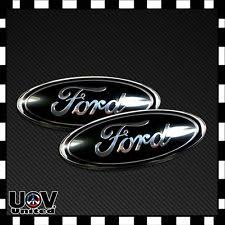 cool ford logos. 2 x for 20042014 f150 tailgate front grille emblem badge oval decal nameplate cool ford logos