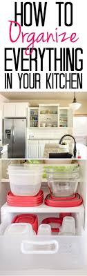 Kitchen Organisation 17 Best Ideas About Apartment Kitchen Organization On Pinterest