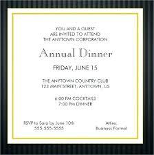 Business Dinner Invitations Formal Business Invitation Example Invitation Letter Birthday