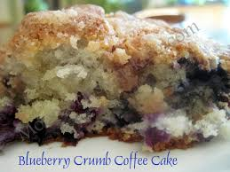 Stir only enough to blend. Blueberry Crumb Coffee Cake Moore Or Less Cooking