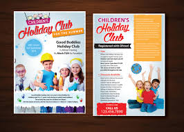 elegant playful flyer design for chic chic boutique by uk flyer design by uk for summer children s holiday club design 6558115