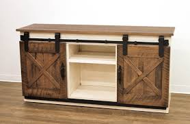 barn door tv stands awesome 72 coastal sliding tv stand dutch craft furniture home ideas 2
