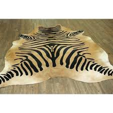 zebra on caramel real natural cowhide rug area rugs print uk zebra cowhide rug